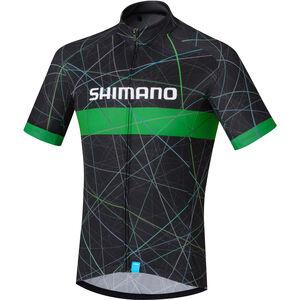 Shimano Team Jersey Herren black black