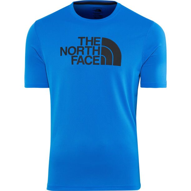 The North Face Train N Logo Flex SS Tee Herren bomber blue