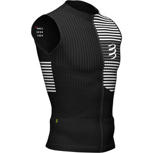 Compressport Triathlon Postural Tank Top Herren black/white black/white