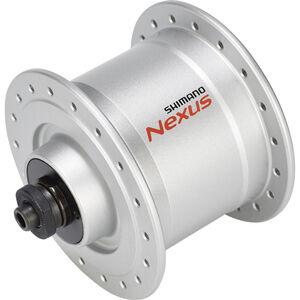 Shimano Nexus DH-C3000-3N Nabendynamo 3 Watt für Felgenbremse/Schnellspanner silber silber