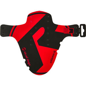 """rie:sel design schlamm:PE Front Mudguard 26-29"""" red red"""