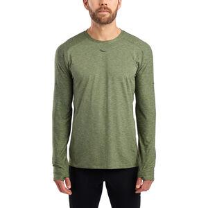 saucony Breakthru Langarm-Shirt Herren four leaf clover four leaf clover