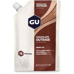 GU Energy Gel Bulk Pack 480g Chocolate Outrage