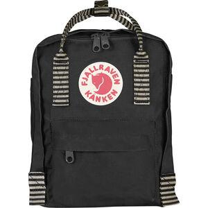 Fjällräven Kånken Mini Backpack Kinder black-striped black-striped