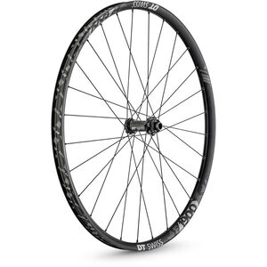 """DT Swiss E 1900 Spline Vorderrad 29"""" CL Alu 100/15mm TA DB 30mm schwarz/weiß schwarz/weiß"""