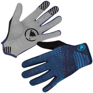 Endura SingleTrack Lite Strick Handschuhe marineblau