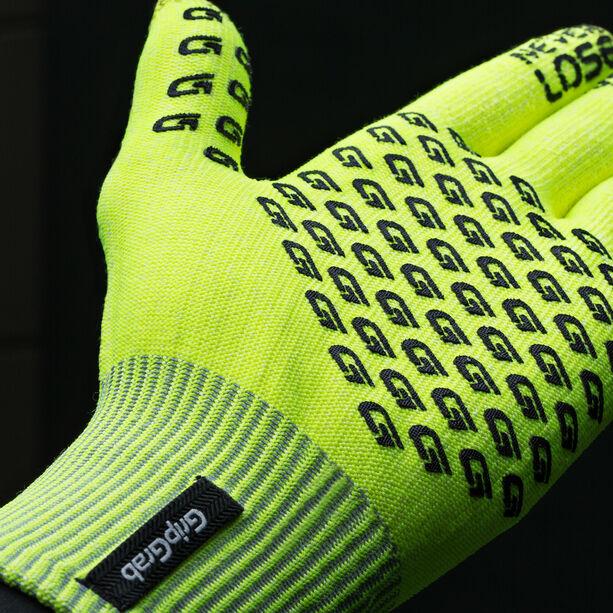 GripGrab Primavera Hi-Vis Midseason Gloves fluo yellow