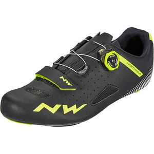 Northwave Core Plus Shoes Herren black/yellow fluo black/yellow fluo