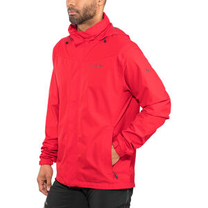 VAUDE Escape Bike Light Jacket Men indian red