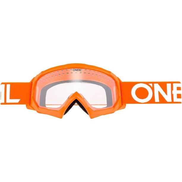 O'Neal B-10 Goggles Kinder solid orange/white