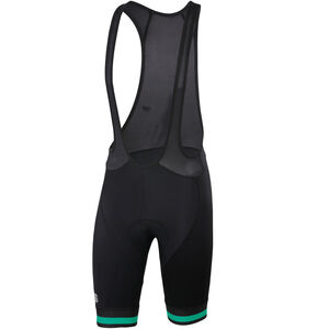 Sportful Bodyfit Team Classic Bibshorts Men Black/Bora Green bei fahrrad.de Online