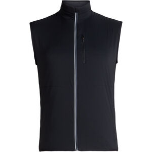 Icebreaker Tech Trainer Hybrid Vest Herren black/jet heather black/jet heather