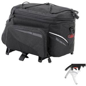 Norco Canmore Gepäckträgertasche Topklip schwarz schwarz