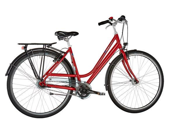 vsf fahrradmanufaktur S-80 Wave Nexus 8-Gang RT V-Brake rubinrot