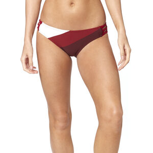 Fox Kingsport Lace Up Swim-Bottom Damen charcoal/graphite/red charcoal/graphite/red