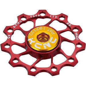 KCNC Jockey Wheel Ultra 10 Zähne SS bearing red red