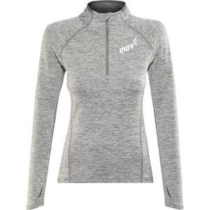 inov-8 Train Elite Mid LS Zip Top Women light grey light grey