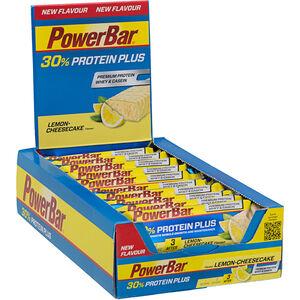 PowerBar ProteinPlus 30% Bar Box 15x55g Lemon Cheesecake