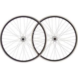 """Point SingleSpeed Laufradsatz 28"""" schwarz-weiß schwarz-weiß"""