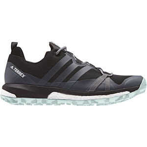 adidas TERREX Agravic Shoes Women Core Black/Grey Three/Ash Green