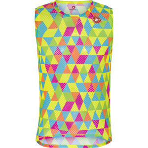 Castelli Pro Mesh Sleeveless Baselayer Jersey Men multicolor fluo bei fahrrad.de Online