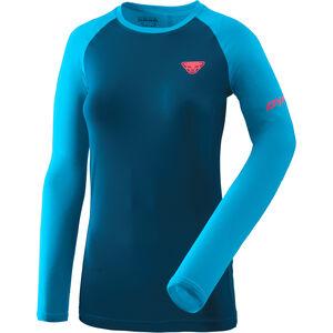 Dynafit Alpine Pro Langarm T-Shirt Damen methyl blue methyl blue