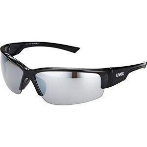 UVEX Sportstyle 215 Sportbrille black/silver black/silver