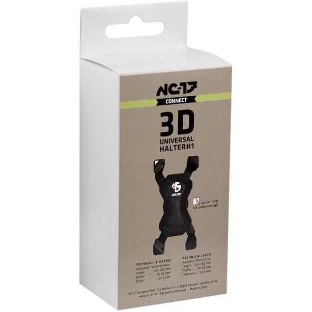 NC-17 Connect 3D Universal Halter #1 Lenker Montage