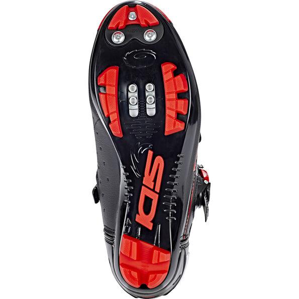 Sidi MTB Eagle 7-SR Shoes Herren black/red