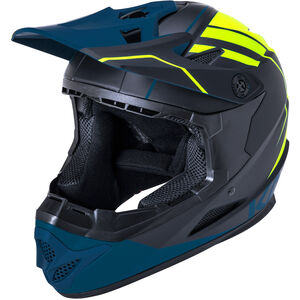 Kali Zoka Helm Herren black/fluo yellow/teal black/fluo yellow/teal
