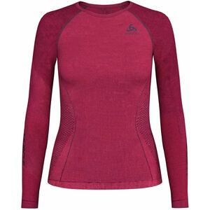 Odlo Performance Muscle L/S Top Crew Neck Suw Women diva pink/odyssey gray diva pink/odyssey gray