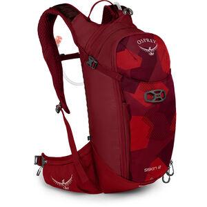 Osprey Siskin 12 Hydration Backpack Herren molten red molten red