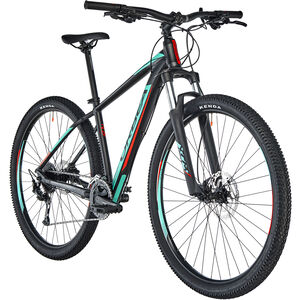 "ORBEA MX 40 29"" black/turqoise/red"