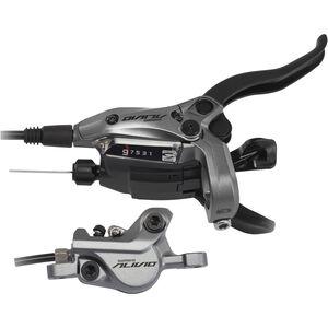 Shimano Alivio BR-M4050 Scheibenbremse/Schalthebel Hinterrad grau grau