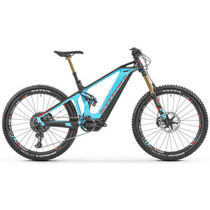 Mondraker Crusher XR+ Light Blue/Flame Red/Carbon