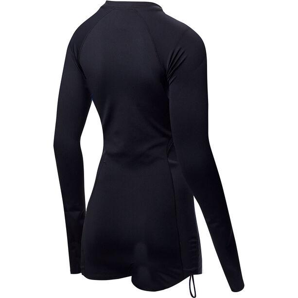 TYR Solid Fiona Longsleeve One Piece Jumpsuit Damen black