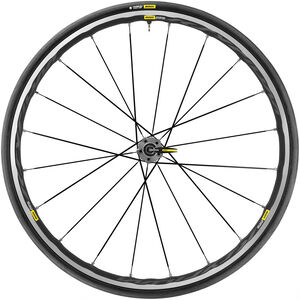 Mavic Ksyrium Elite UST Hinterrad schwarz/grau schwarz/grau