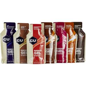 GU Energy Gel Testpaket 7x32g Verschiedene Geschmacksrichtungen
