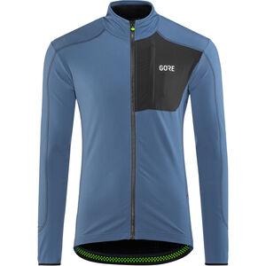 GORE WEAR C5 Thermo Trail Jersey Herren deep water blue/black deep water blue/black