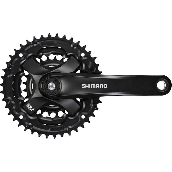 Shimano FC-TY501 Kurbelgarnitur 6/7/8-fach 48-38-28 Zähne bei fahrrad.de Online