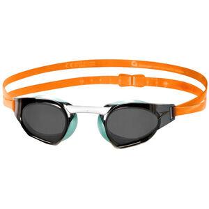 speedo Fastskin Prime Mirror Goggles jaffa orange/peppermint/smoke jaffa orange/peppermint/smoke