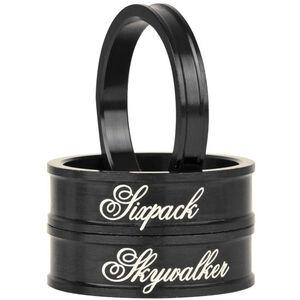 """Sixpack Skywalker Spacer 1 1/8"""" stealth-black stealth-black"""