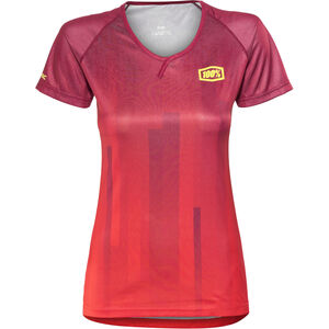 100% Airmatic Enduro/Trail Jersey Women red