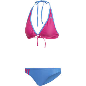 adidas BW 3-Stripes NH Bikini Damen real magenta/true blue real magenta/true blue