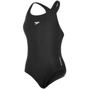 speedo Essential Endurance+ Medalist Swimsuit Girls Black
