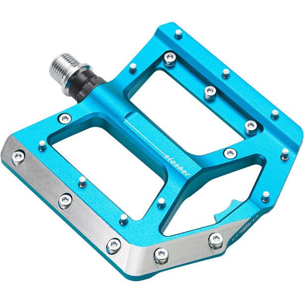 Cube Slasher Pedale blau