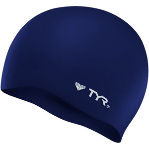 TYR Silicone Cap No Wrinkle navy navy
