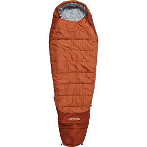 Nordisk Knuth Sleeping Bag 160-190cm Kinder burnt red burnt red