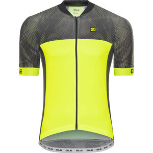 Alé Cycling Formula 1.0 Ultimate SS Jersey black-fluo yellow