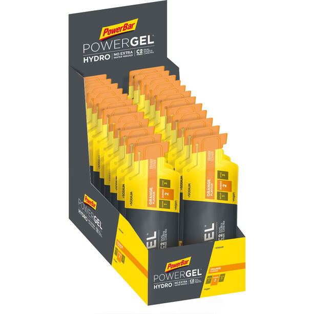 PowerBar PowerGel Hydro Box 24x67ml Orange
